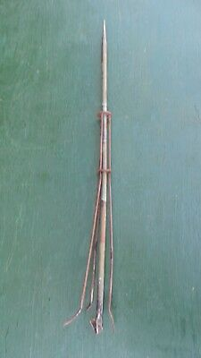 "Vintage Copper Lightning Rod Measures 38"" High"
