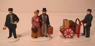 "Department 56 ""Holiday Travelers""#5571-9 Heritage Village Collection HandPainted"