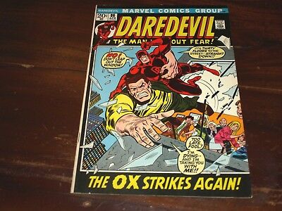 Marvel Daredevil 86   6.5 To 7.5  Ready For Cgc !!!!!!!!!!