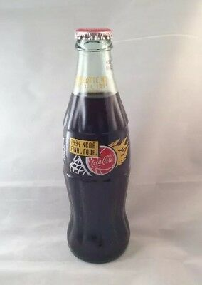 Vintage Coca-Cola Final Four 1994 Commemorative Bottle Collectible Coca Cola