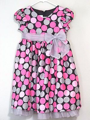7d33284549de GIRLS SIZE 6X Iris and Ivy Dressy Dress Summer Polka Dots -  9.99 ...