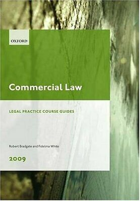 Commercial Law 2009: LPC Guide (Legal Practice Co... by White, Fidelma Paperback