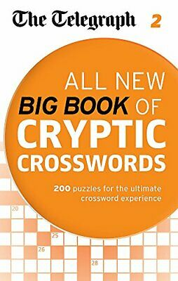The Telegraph: All New Big Book of Cryptic Crosswords 2 (The... by THE TELEGRAPH