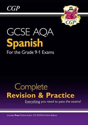 GCSE Spanish AQA Complete Revision & Practice (with CD & Online ... by CGP Books