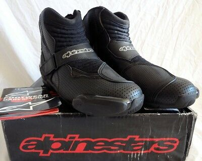 Alpinestars SMX-1 R Vented Mens Street Boots, 12.5 US, 48 Euro $160 New