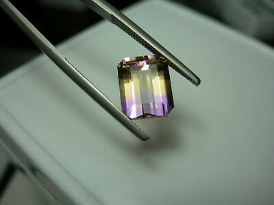 3.79ct Ametrine Gemstone Unheated Untreated gem Bolivia Amethyst Citrine Bicolor