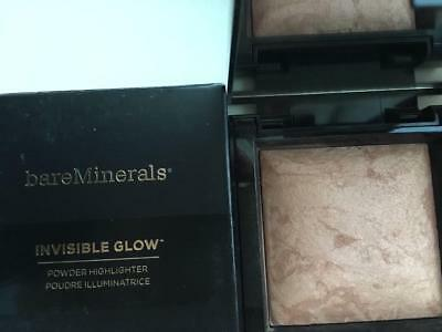 BareMINERALS Invisible Glow Powder Highlighter Full Size TAN 7 g / 0.24 oz.