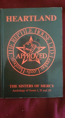 Heartland Sisters Of Mercy Anthology of Issues I, II, III first Edition