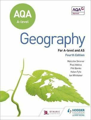 AQA A-level Geography Fourth Edition by Skinner, Malcolm Book The Cheap Fast