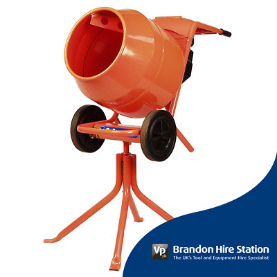 Belle Cement Mixer Minimix 150 110v Concrete inc. Stand