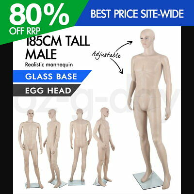 Full Body Male Mannequin Clothes Display Dressmaking Window Fashion