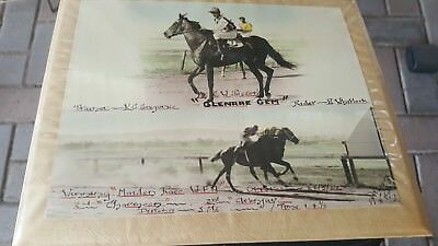 Assorted Vintage Horse Racing Photos