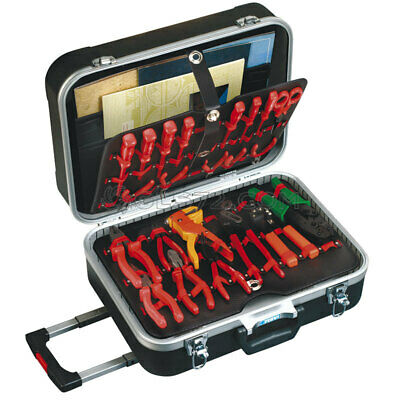 Trolley Abs Tool Case Tool Box Bag Working (Tools Not Included) Fervi 0683