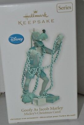 Hallmark Keepsake Ornament 2011 GOOFY AS JACOB MARLEY MIB