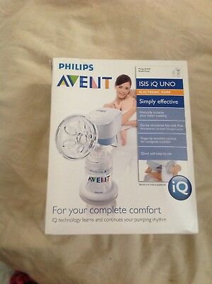 avent electric or manual breast pump