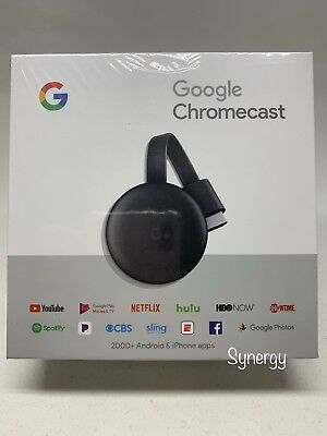 Google Chromecast Digital HD Media Streamer 3rd Generation Brand New