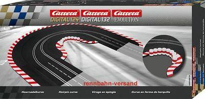 Carrera Digital 132, Evolution , Haarnadelkurve, 20613
