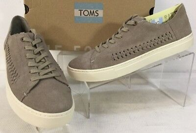 a74f5854004 NEW TOMS WOMEN S size 12 Desert Taupe Deconstructed Suede Lenox ...