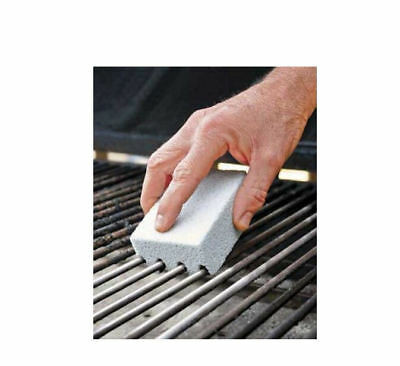 2 pcs Magic Stone Grill Cleaner BBQ Barbecue Scraper griddle Cleaning Stone