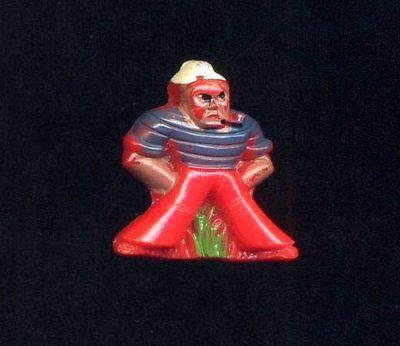 Vintage Button...Glass Realistic…Sailor Smoking A Pipe