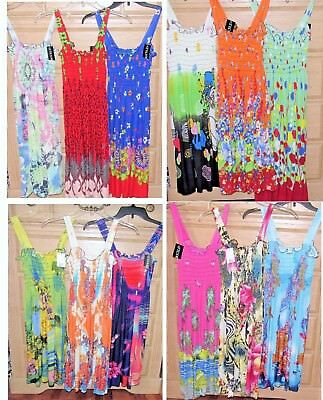 US SELLER new wholesale dresses LOT of 6 pcs fashion sundress 2018 Spring Summer