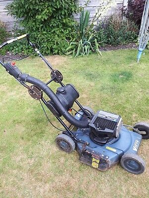 Victa 550 Mulch Master Two Stroke Petrol Self Propelled Rotary Lawnmower