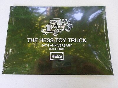 The Hess Toy Truck 40Th Anniversary 1964-2004 Book New-Factory Sealed
