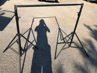 Heavy Duty Photography Paper Background stand 3m x 3m in excellent condition