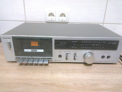 TOSHIBA PC-X15 Stereo Cassette Tape Deck Made in Japan Baujahr 1975
