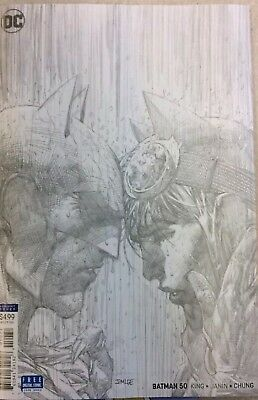Batman #50 | Jim Lee 1:100 Sketch Pencil Variant |
