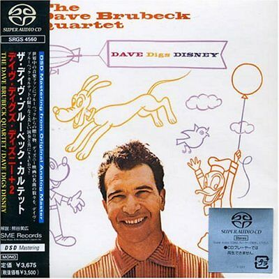 "SACD The Dave Brubeck Quartet "" Dave Digs Disney +2 ""  Super Audio CD"