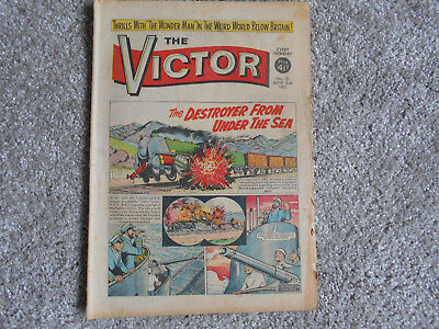 THE VICTOR COMIC  No 15  3rd June 1961