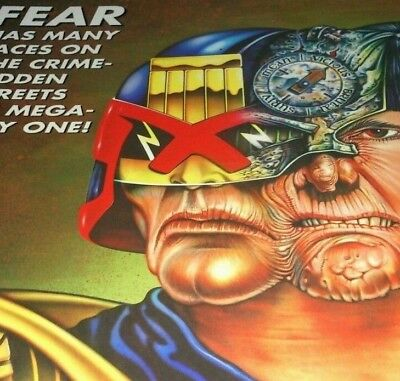 Judge Dredd yearbook 1996