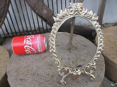 Antique Or Vintage Ornate In Brass Victorian Style Beautiful Picture Frame