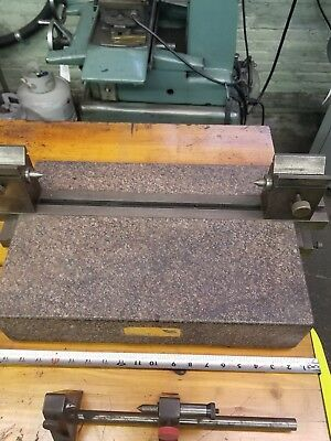 Between centers surface plate and extra fixture