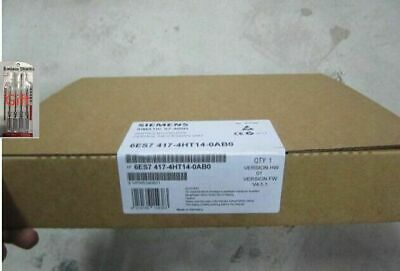 1pcs NEW SIEMENS 6ES7417-4HT14-0AB0 SIMATIC CPU by DHL or EMS