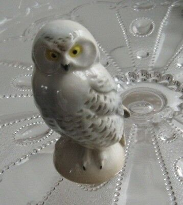 Goebel Bird Snowy Owl figurine full bee