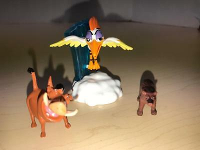 "Lion Guard Lion King Disney Jr Just Play Flying Bird ONO-Pumba Figure LOT-3""-2"""
