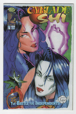 Cyblade/Shi The Battle for Independents #1(1995 Image)1st App Witchblade Variant