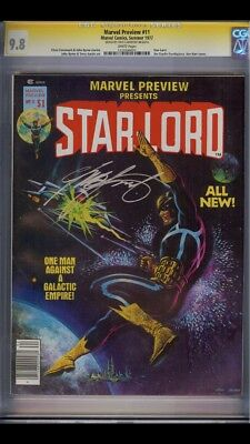 Marvel Preview #11 CGC 9.8 SS Signed by Chris Claremont!