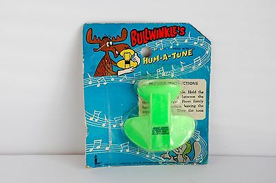 1969 Bullwinkle's Hum-A-Tune on Card Rocky and Bullwinkle