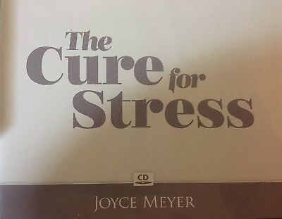 THE CURE FOR Stress by Joyce Meyer [Audiobook CD] - $10 36
