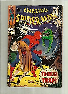 Amazing Spiderman #54  1967 Silver Age Marvel Comics  Doc Ock 1/2 Off