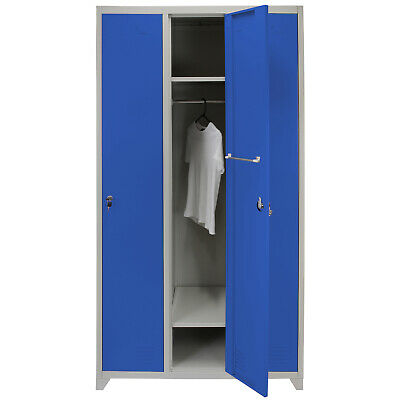 Metal Steel Staff Storage Lockers  Red Express Delivery FREE Magnets