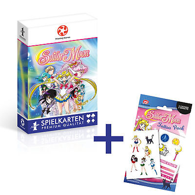 Number 1 Spielkarten Sailor Moon Sailormoon Saliormoon Spiel Tattoos