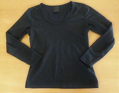 Ladies Black Kathmandu Thermal Long Sleeve Top Sz 10 - Suit 8 10