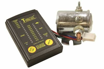 T-Max 12V Split Charge Relay Dual Battery System/Digital Battery Monitor