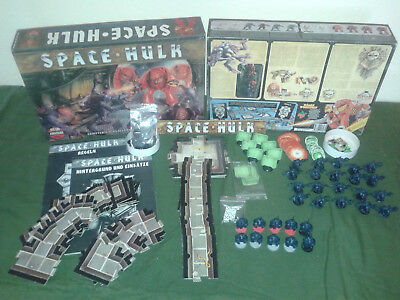 SPACEHULK 1. Edition 1989- Brettspiel - GW Warhammer- RAR - Top Zustand