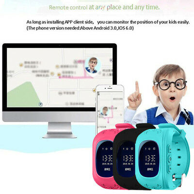 Kids Smart Watch GPS Tracker Phone Call For iPhone Android IOS 3.7V New 2018