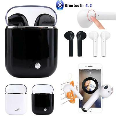 i7S Wireless Bluetooth Stereo Sports Headphones In-ear Earphones for Android